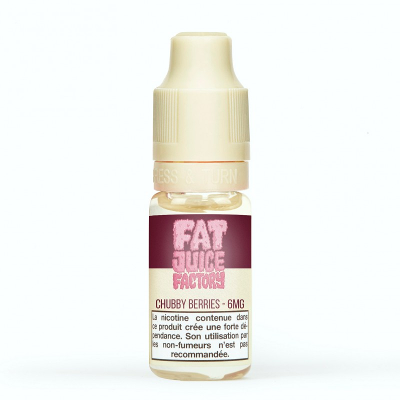 Pulp Fat Juice Factory Chubby Berries pas cher