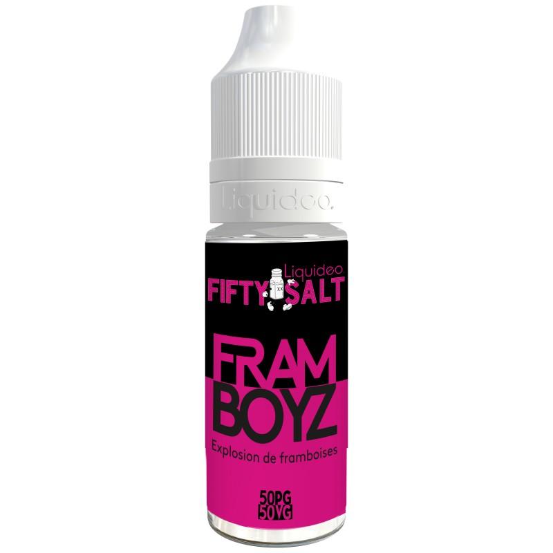 Liquideo Fifty Salt Framboyz