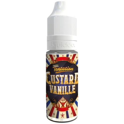 Liquideo Tentation Custard Vanille pas cher