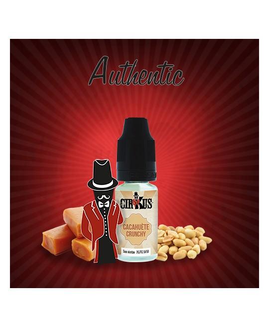 cirkus authentic cacahuète crunchy pas cher