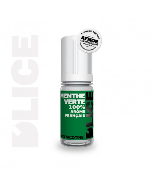 e-liquide d'lice menthe verte pas cher