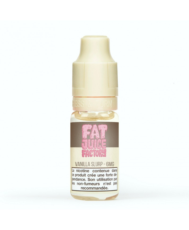 Pulp Fat Juice Factory Vanilla Slurp pas cher