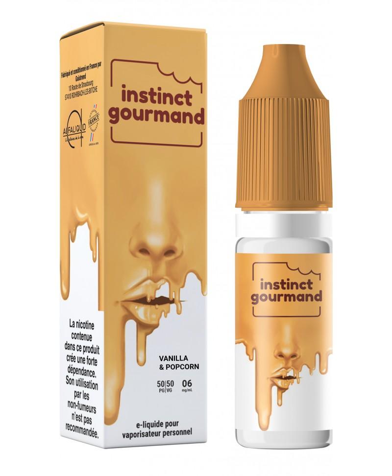 alfaliquid instinct gourmand vanilla & popcorn pas cher