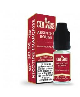cirkus authentic sel de nicotine absinthe rouge pas cher