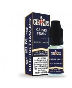 cirkus authentic sel de nicotine cassis frais pas cher