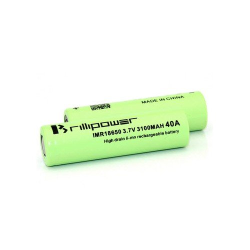 ACCU 18650 - 3100 MAH - BRILLIPOWER