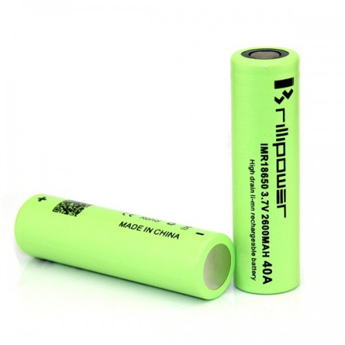 ACCU 18650 - 2600 MAH - BRILLIPOWER